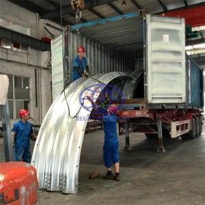 supply the corrugated steel culvert to Gabon